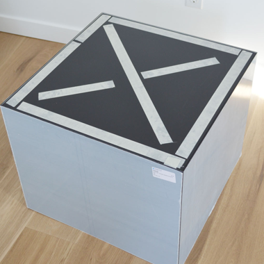 Plexiglas tafel - stap 8