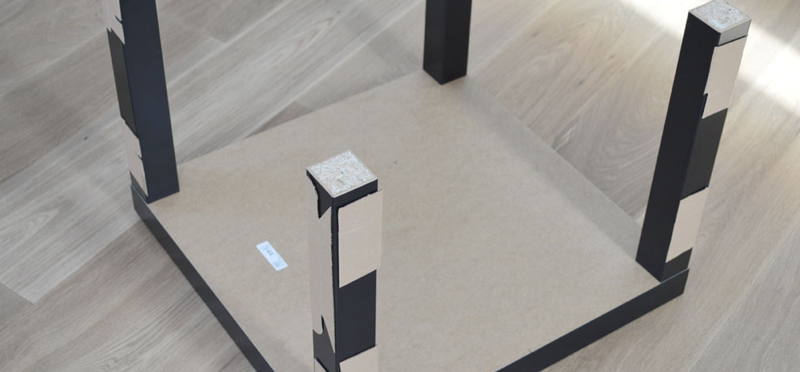 Plexiglas tafel - stap 4