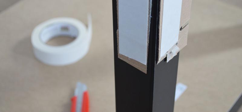 Plexiglas tafel - stap 5