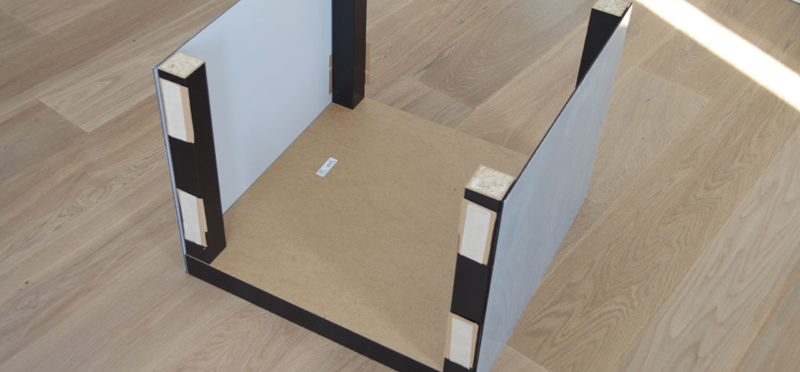 Plexiglas tafel - stap 6