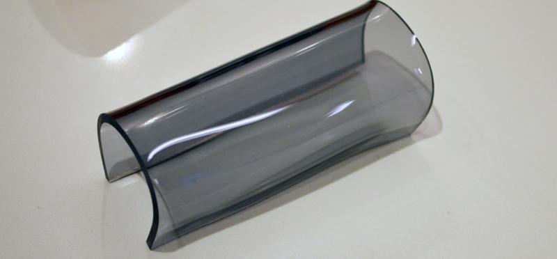 Tafeldecoratie - plexiglas rond