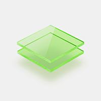 Plexiglas fluorescerend