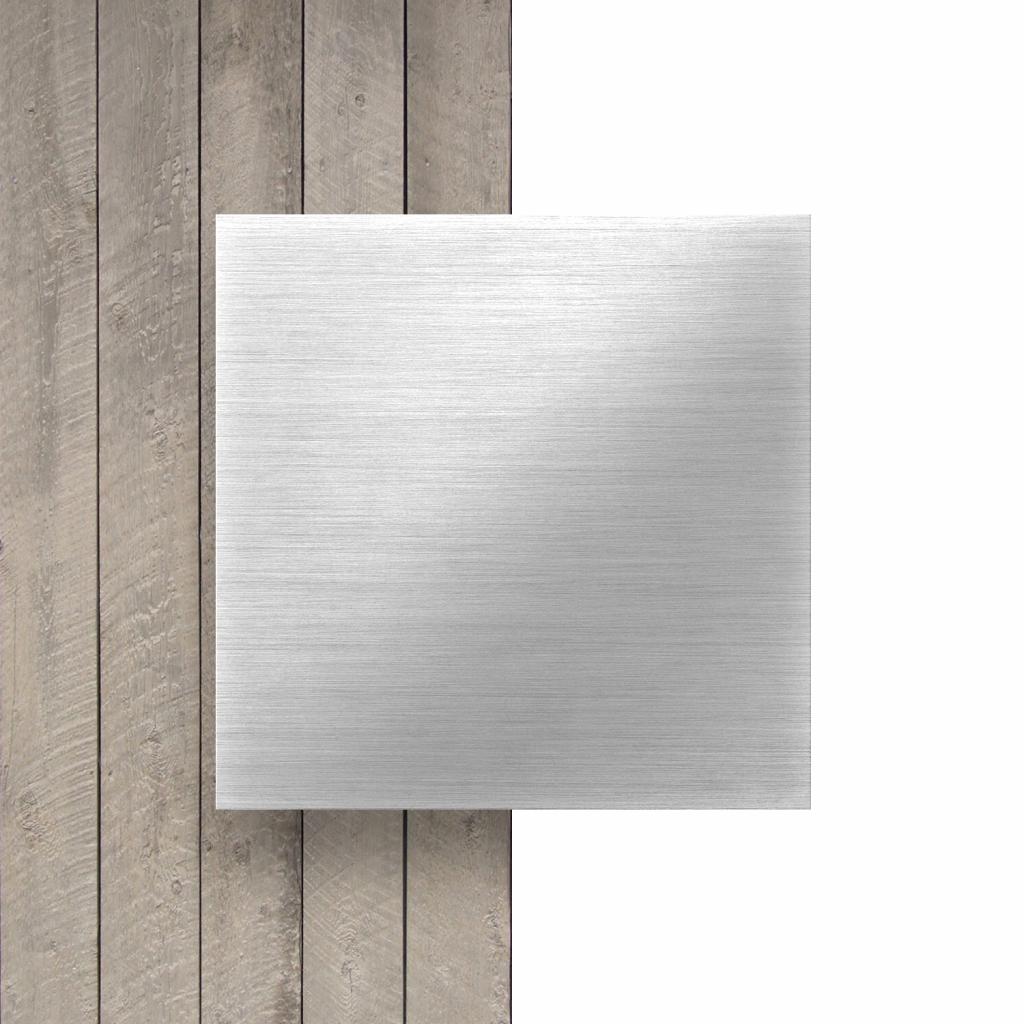 Alupanel geborsteld aluminium butlerfinish