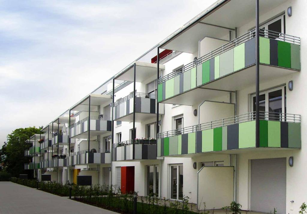 HPL balkonbekleding