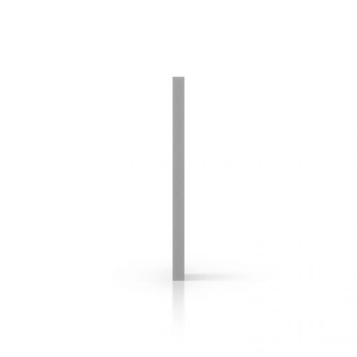 Zijkant geschuimd PVC grijs
