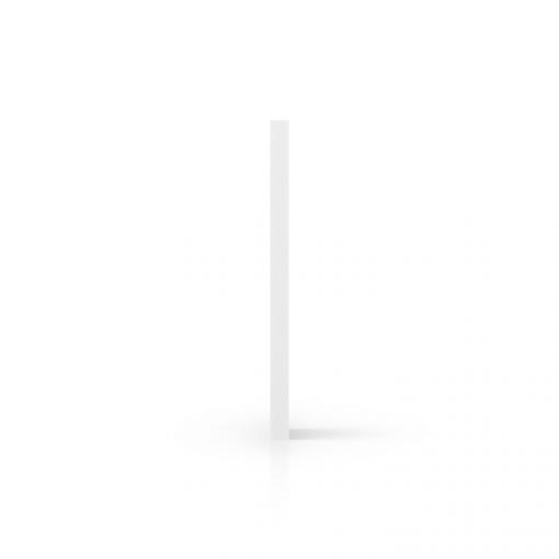 Zijkant geschuimd PVC wit