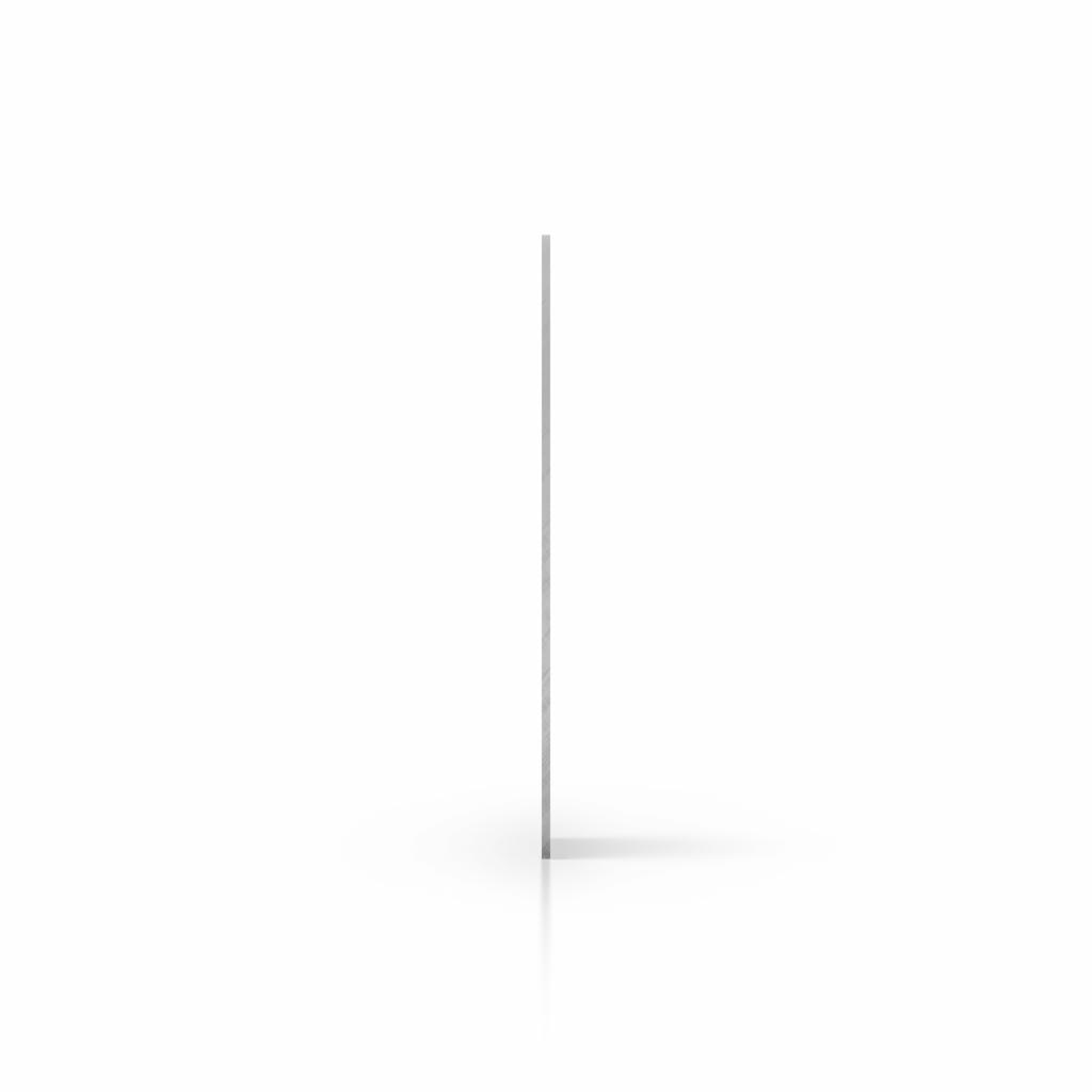 Zijkant hard PVC transparant