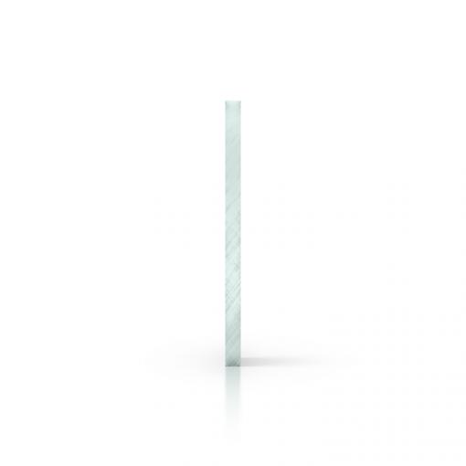 Zijkant plexiglas glaslook