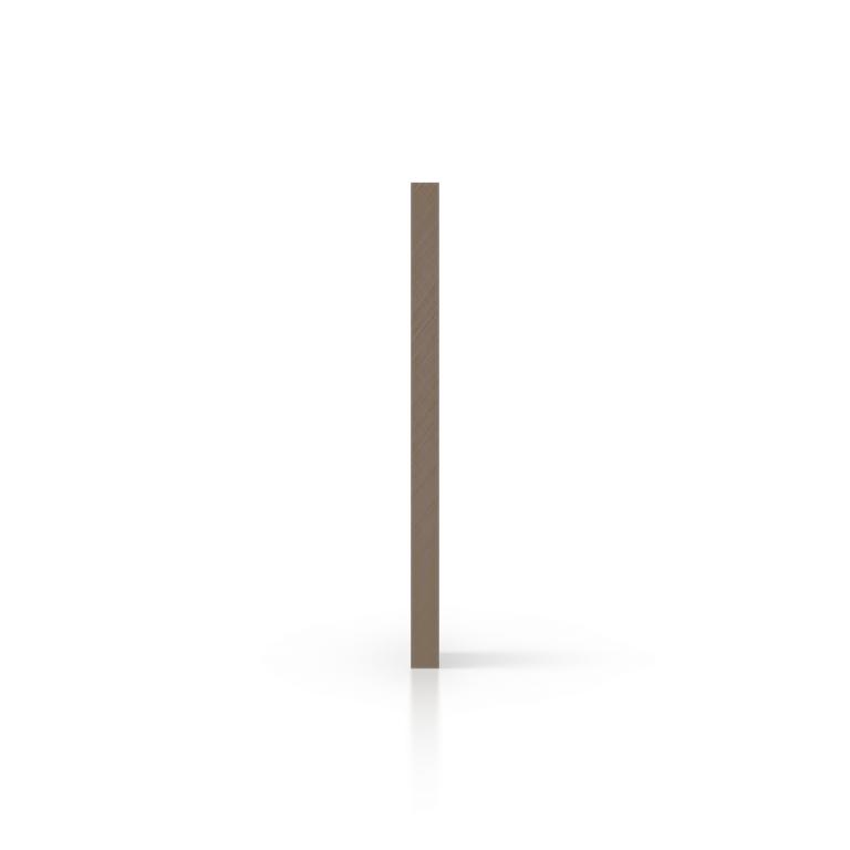 Zijkant plexiglas satijn klei mat