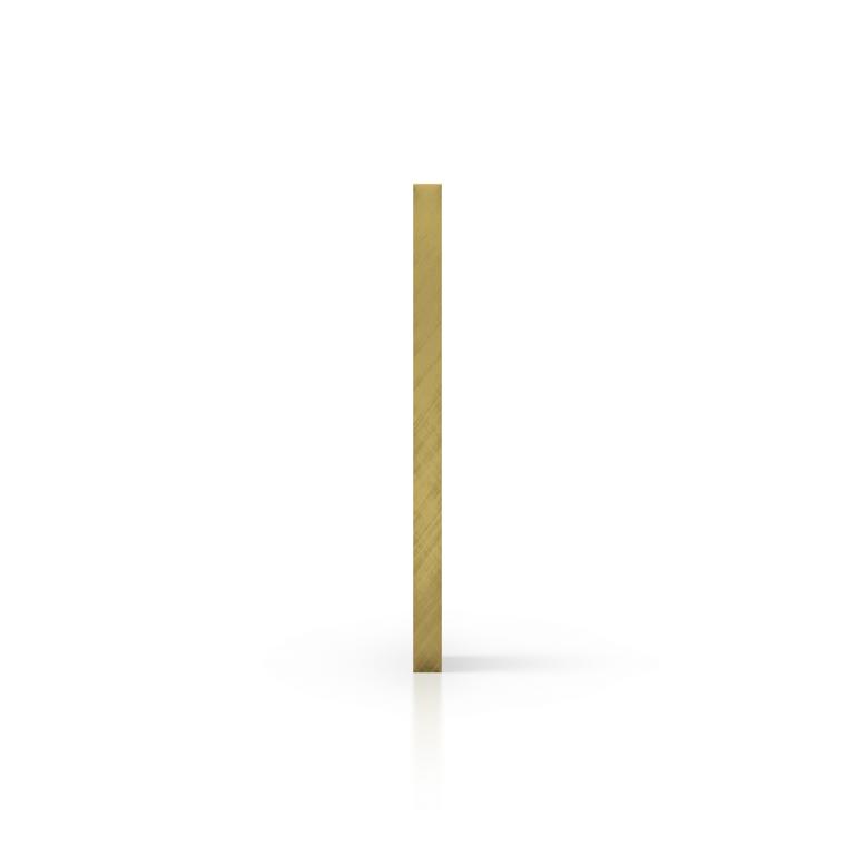 Zijkant plexiglas spiegel goud