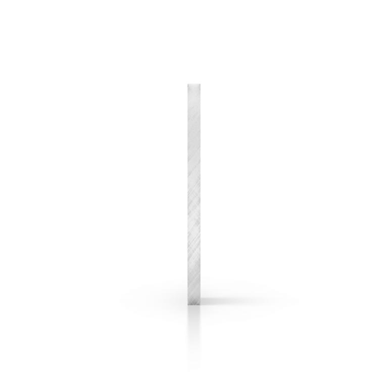 Zijkant plexiglas spiegel zilver