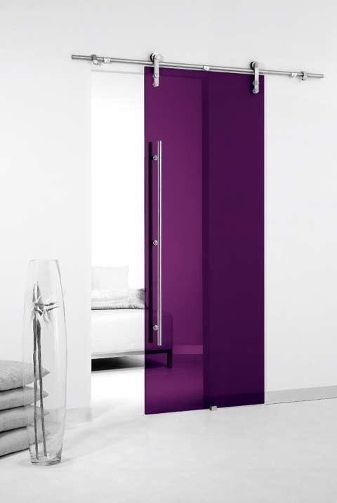 Plexiglas deur