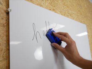 Alupanel whiteboard