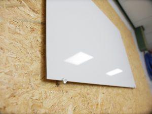 Alupanel whiteboard paneelhouders