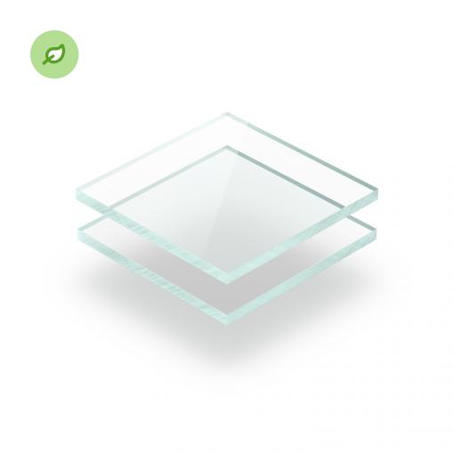 Gerecycled plexiglas Green Cast glaslook