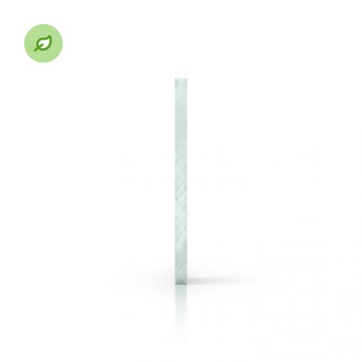 Green Cast gerecycled plexiglas glaslook zijkant