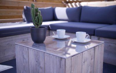 DIY: plexiglas tafelblad voor je tuintafel