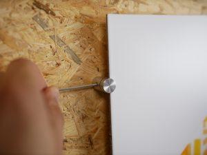 Whiteboard monteren