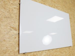 Whiteboard van kunststof
