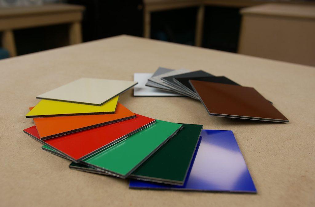 Welke alupanel / Dibond® kleuren zijn er?