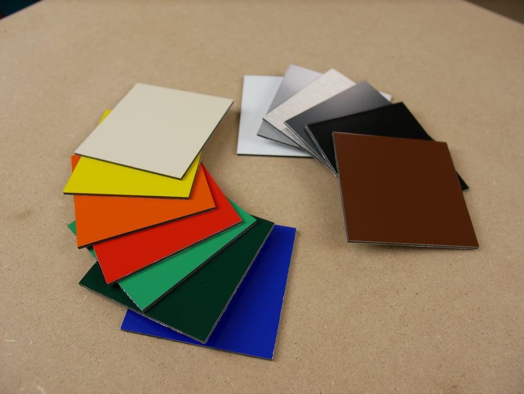 Dibond kleuren