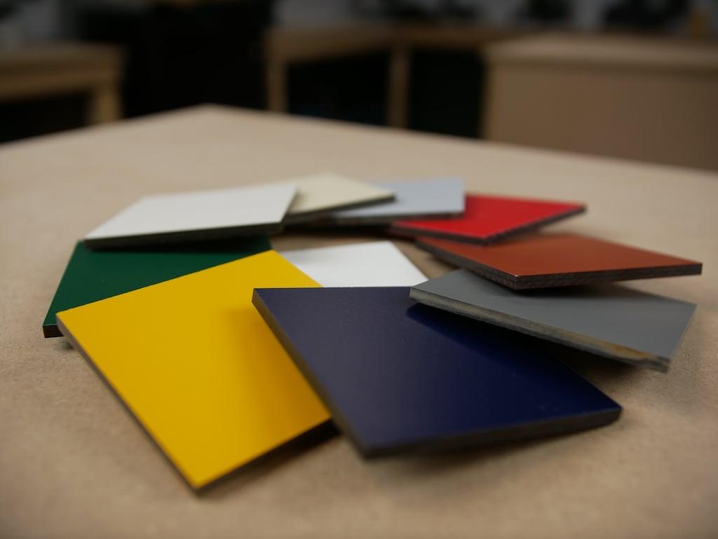 HPL voordeel veel kleuren