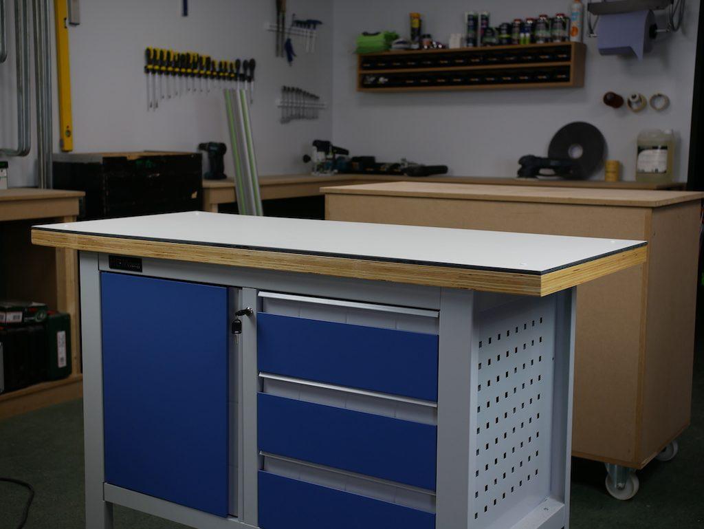 HPL werkblad DIY