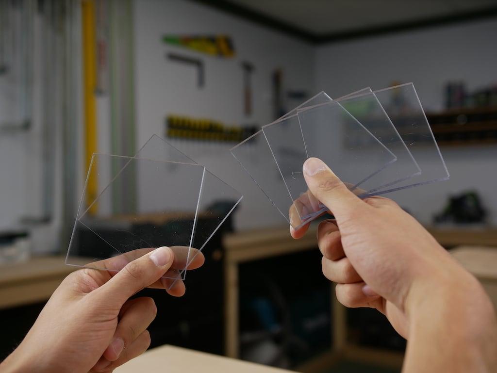 Plexiglas en polycarbonaat