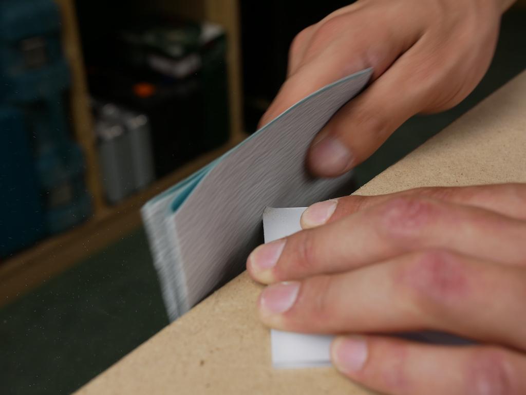 Plexiglas ronde hoeken maken