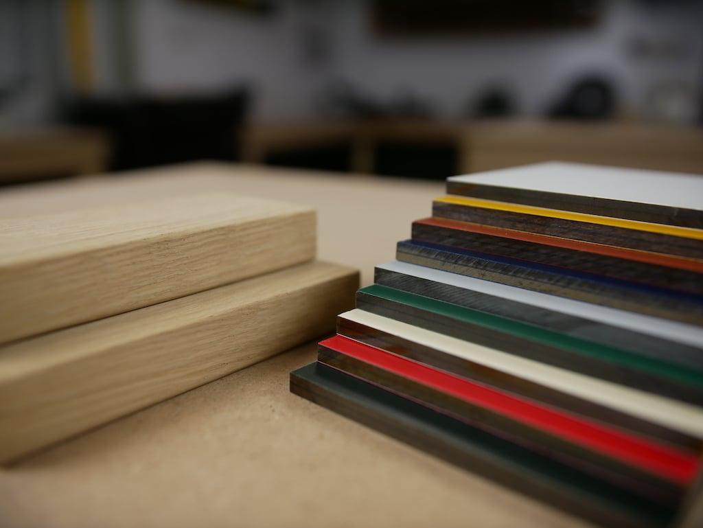 Verschillen tussen HPL en hout