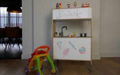 DIY: IKEA keukentje pimpen