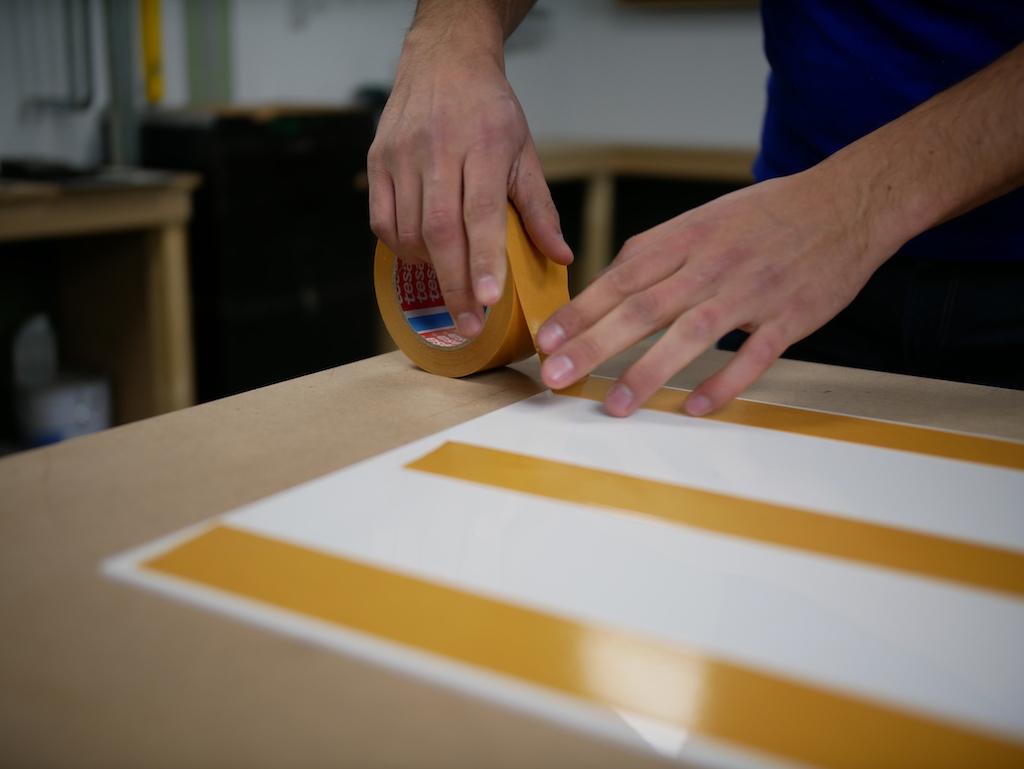 IKEA keuken pimpen plexiglas dubbelzijdig tape plakken