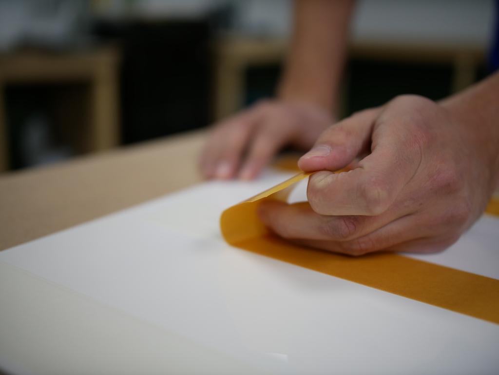 IKEA keuken plexiglas dubbelzijdig tape plakken