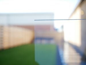 Polycarbonaat plexiglas in daglicht