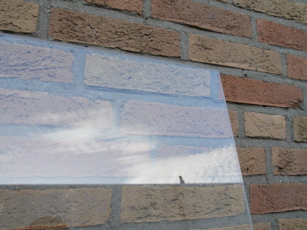 Polycarbonaat plexiglas voor muur 2