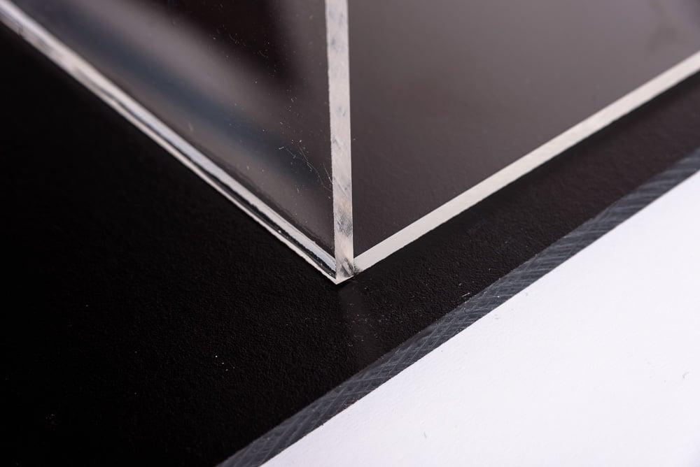 Polycarbonaat lijmen platen fixeren
