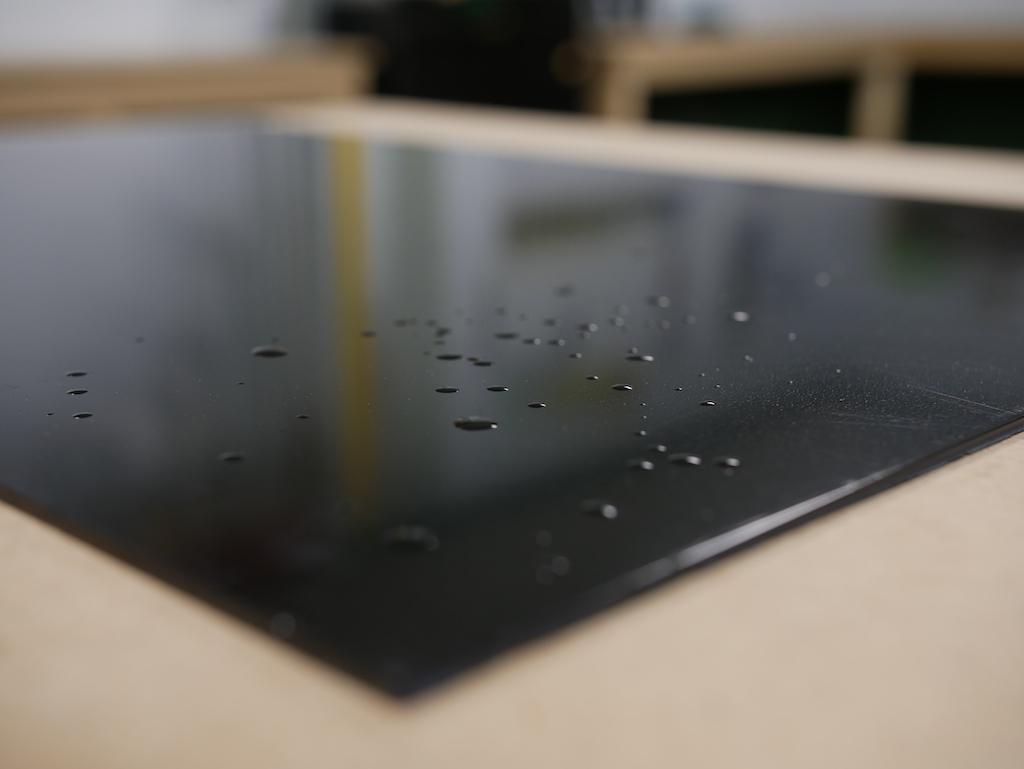 Polyethyleen plaat binnen