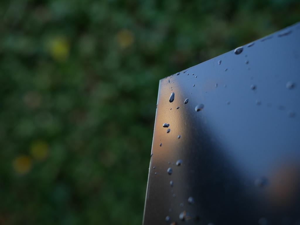 Polyethyleen plaat buiten