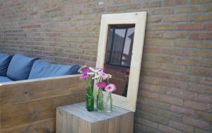 Leuke tuin ideeen Plexiglas tuinspiegel - staand