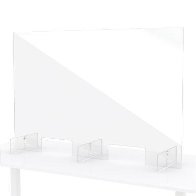 Plexiglas baliescherm toonbankscherm