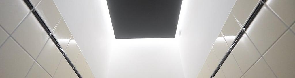 Kunststof plafond toilet maken eindresultaat in banner