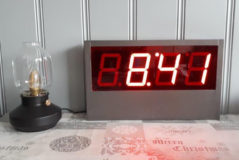 Zelf klok maken digitale klok