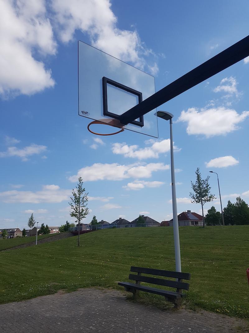Basketbalbord polycarbonaat