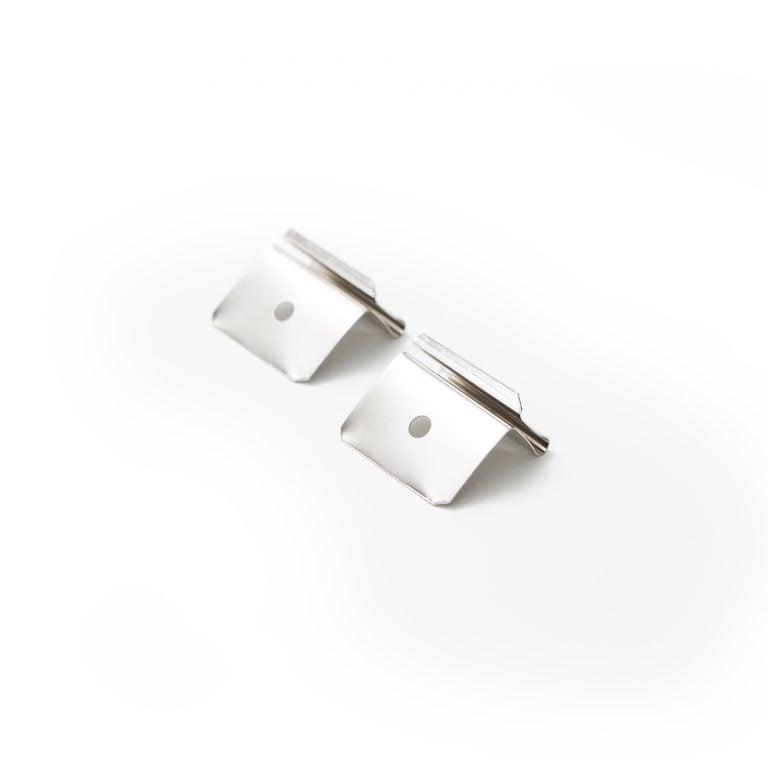 Plafondclip set voor plexiglas ophangsysteem