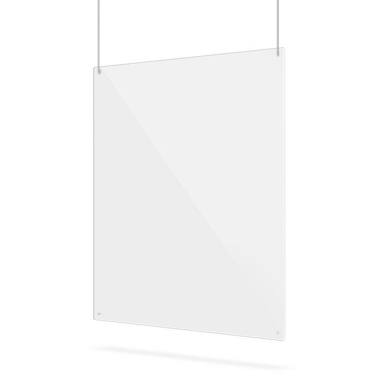 Plexiglas scherm met gaten