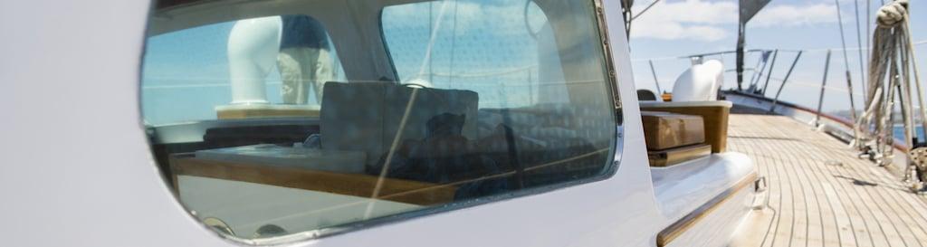 bootraam veiligheidsglas