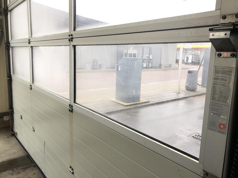 overheaddeur veiligheidsglas