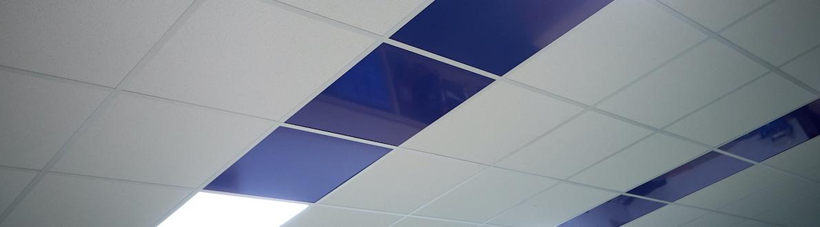 Systeemplafond pimpen met alupanel