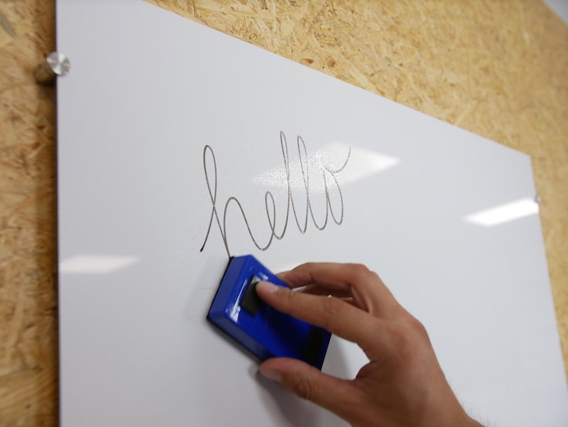 Whiteboard van alupanel