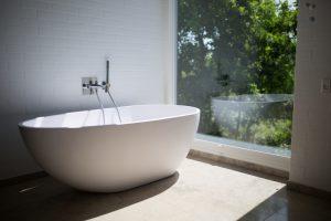 badkamer raam zonder privacy